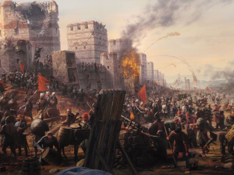 Image result for 1453 fall of constantinople
