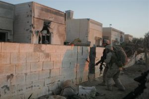Marines from 3rd Battalion 6th Marines clear Ubaydi during Operation Steel Curtain in October and November of 2006. This was the location of the casualty described in this section.